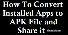 Here you will get the best and latest collection of [How To] Best Apps Convert…