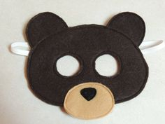 This Felt Mask is perfect for your little one to use during pretend play. Great for imaginary games or songs your child likes to play. This would also