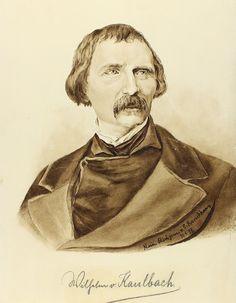 Original Aquarell Portrait Wilhelm Von Kaulbach | eBay