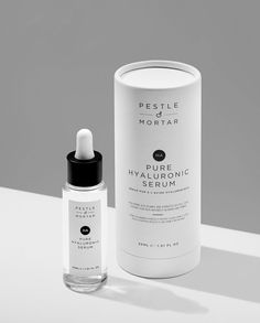 Pestle & Mortar Pure Hyaluronic Acid Serum hydrates and soothes even the most sensitive skin while smoothing fine lines and restoring youthful elasticity.