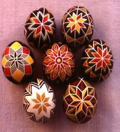 Pysanka, the Ukrainian Easter egg is the first herald of spring. Ancient people believed that the egg possessed mystical powers