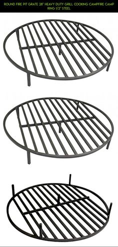 """Round Fire Pit Grate 28"""" Heavy Duty Grill Cooking Campfire Camp Ring 1/2"""" Steel #shopping #cooking #gadgets #technology #drone #plans #fpv #racing #products #parts #kit #camera #ring #tech #outdoor"""