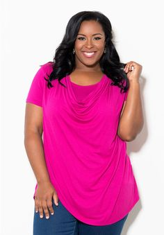 Sandy Top From the Plus Size Fashion Community at www.VintageandCurvy.com