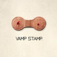 Vamp stamp from True Blood ad Simon Lewis, Vampire Queen, Buffy The Vampire Slayer, Vampire Knight, True Blood, Vampire Diaries, Vampires, Clary And Simon, Vamp Stamp