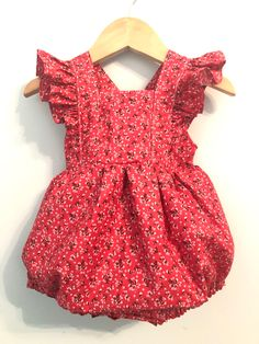 00938a76b7e stylish childrens clothing handmade with love by GeorgieByNicoleAnn. Ruffle  Romper
