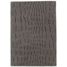 Asiatic Carpets Croc Rug in Grey - WorldStores