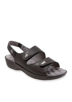 Softwalk Black Bolivia Sandal