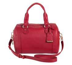 This Cole Haan Linley Barrel Bag is so chic - www.colehaan.com
