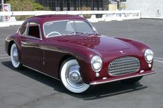 1947 Cisitalia-- owned by Petersen Museum... If this was my car...