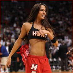 like it, or not I had a stint as an NBA dancer...best shape of my life!