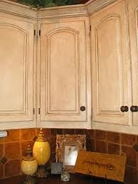 antique glazed kitchen cabinets pictures - Google Search