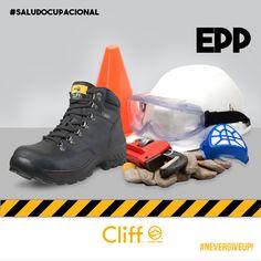 #SaludOcupacional EPP- Equipo de Protección Personal #Protegetuspasos…