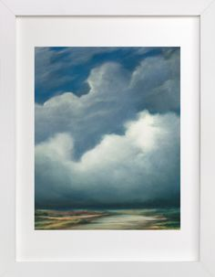 """""""Afternoon Fog"""" - Art Print by Kelly Money in beautiful frame options and a variety of sizes."""