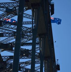 Detail shot of the steel pylons that make up the massive Sydney Harbour Bridge. Photo taken May 2015  #bridge #structure #iconic #icon #landmark #solid #strong #girder #metal #famous #heavy #sydney #sydneyharbour #sydneyharbourbridge #newsouthwales #nsw #aussie #australia #travel #holiday #explore #sunshine #atmosphere #awesome #nikon #nikonphotography #nikonphotographers #instagood #instaphoto #architecture by alexbarison http://ift.tt/1NRMbNv