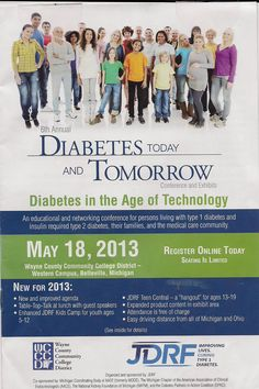 Diabetes conference flier - Google Search