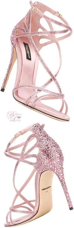 Brilliant Luxury by Emmy DE ♦ Dolce & Gabbana Keira Sandals