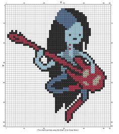 marceline cross stitch pattern