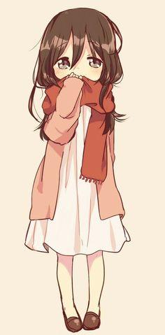 anime adorable shy little girl - Google Search