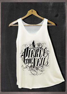 Pierce the Veil Vic Mike V.2 Design Shirt Tank Top by FourthSeason