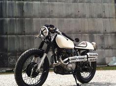 Stephanie Pottenger (tumblog) on her first ride…... http://themotolady.com/post/33313484609/honda-cl360-cafe-racer-custom-woman
