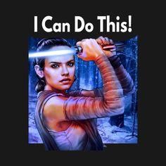 Rey Can Do It! by grungethemovie