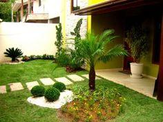 Dicas de paisagismo e jardinagem residencial simples Jardinagem residencial Paisagismo e Jardins pequenos