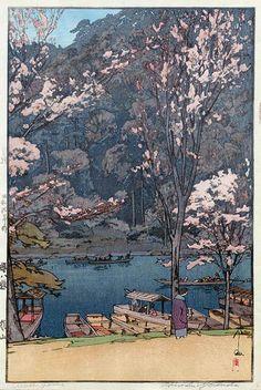 Hiroshi Yoshida Arashiyama 1935