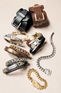 Mk Mens Bracelet