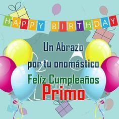 Feliz Cumpleanos Primo Tarjeta Feliz cumpleaños Primo