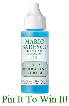 Re-pin!  After 100 Repins, we'll award this product to FIVE lucky pinners. Make sure to repin from Mario Badescu's pinboard, here: http://pinterest.com/pin/74027987595150501/
