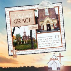 Feel a Spiritual Retreat With This Faith Scrapbook Layout – Creative Memories Blog