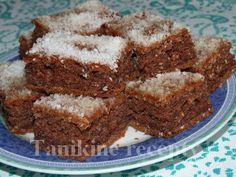 Kokosovo - cuketový koláč