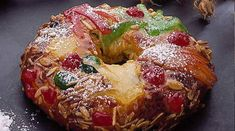 Bolo Rei The King of Christmas Desserts – Family Foodie Portuguese Desserts, Portuguese Recipes, Portuguese Food, Christmas Cooking, Christmas Desserts, Fruit Confit, Cake Recipes, Dessert Recipes, Around The World Food