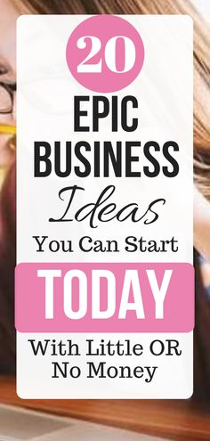 Online Business Ideas for Startups that you can start with no money. Looking to start a business with no capital and work from home. Take a look at this cool list of 20 online Best Business To Start, Starting A Business, Business Tips, Online Business, Business Products, Business Website, Business Marketing, Content Marketing, Online Marketing