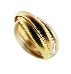 Cartier Tri-Gold Ring