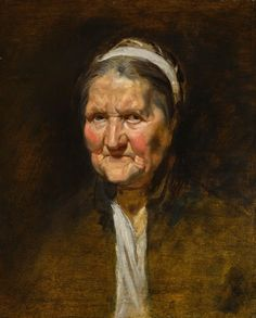 Peter Paul Rubens, Study of an Old Woman on ArtStack #peter-paul-rubens #art