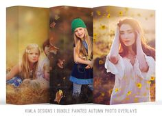 Bundle Painted Autumn Photo Overlays – Kimla Designs