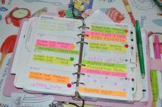 Week 5 used filofax planner 2016
