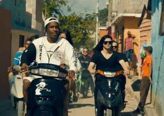 """A$AP Rocky and Skrillex - """"Wild for the Night"""" (music video premiere) http://www.examiner.com/article/a-ap-rocky-is-wild-for-the-night-the-dominican-republic-with-skrillex"""