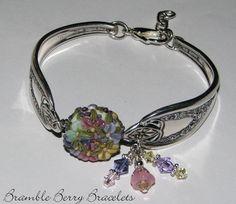 Antique Spoon Bracelet Spoon Jewelry   by brambleberrybracelet, $45.00