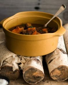 Beef Stew with Red Wine, this is one of those stews you really should make the day before as the sauce gets richer and the meat even more tender. #letsfixdinner