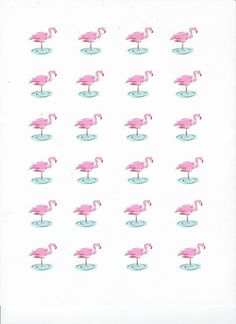 Scrappin' Becky B.: Recipe of the Week: Pink Flamingo Cupcakes (Plus a Printable Sheet of Cupcake Toppers!)