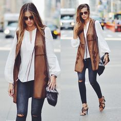 Get this look: http://lb.nu/look/7807684  More looks by Karolina Antoniades: http://lb.nu/thesecretstop  Items in this look:  Paige Denim Jeans, Chanel Bag, Zara Waistcoat