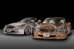 In 2009, Swarovski studded Mercedes SL600 was spotted at the Tokyo Auto Salon. Designed by car accessory designer Garson, the two 'Luxury Crystal Benz' models are each studded with a whopping 300,000 crystals. One has a gold theme and the other has a silver one. Each crystal has been shaped into a diamond and placed on the car body. Of course there is a high price attached to these blinding luxury vehicles – a whopping $4.8 million, making it one of Swarovski's most expensive collaborations.