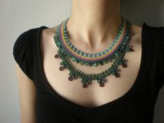 Hoya Imperialis ... Beaded Crochet by irregularexpressions on Etsy
