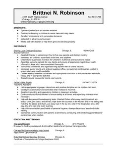 Child Care Worker Cover Letter Sample - Child Care Worker Cover ...