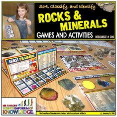 Huge catalog of Gemstone Brooches of most shapes and sizes. Science Worksheets, Typing Games, Creativity And Innovation, Beaded Jewelry Patterns, Pop Up Cards, Science Education, Teaching Tools, Rocks And Minerals, Critical Thinking