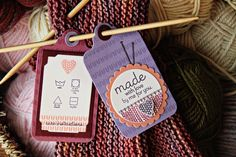 Made With Love and Care Instructions Tags by Erin Lincoln for Papertrey Ink (November 2012)