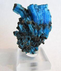 Mineral Specimen - Chalcanthite (primary), The Planet Mine, La Paz Co., Arizona - NearEarthExploration via Etsy