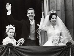 Family affair: Like her sister Queen Elizabeth II, Princess Margaret wore Norman Hartnell Family affair: Like her sister Queen Elizabeth II, Princess Margaret wore Norman Hartnell for her 1960 wedding to Anthony Armstrong-Jones . Famous Wedding Dresses, Royal Wedding Gowns, Royal Weddings, Bridal Gowns, Elizabeth Ii, Poltimore Tiara, Queen's Sister, Windsor, Margaret Rose